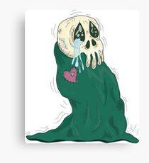 Endearing Skull Monster Canvas Print