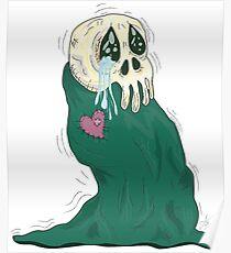 Endearing Skull Monster Poster