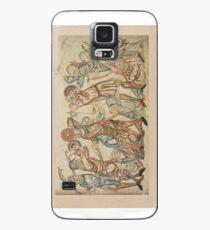 Medieval battle scene Case/Skin for Samsung Galaxy