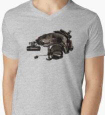 Tactical Brainbucket  Men's V-Neck T-Shirt