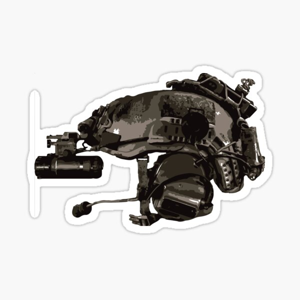 Tactical Brainbucket  Sticker