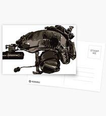 Tactical Brainbucket  Postcards