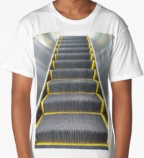 Escalator, New York, Manhattan, Brooklyn, New York City, architecture, street, building, tree, car,   Long T-Shirt