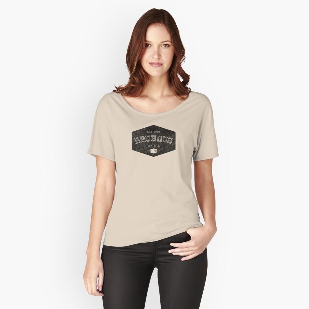 Bauhaus Design Relaxed Fit T-Shirt