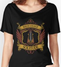 Bards College - Solitude Women's Relaxed Fit T-Shirt