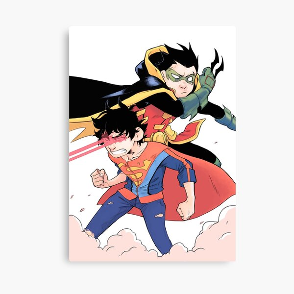 DC Supersons Canvas Print