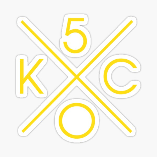 KC Royals 50th Season Swag Sticker