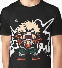 My Hero Academia: Katsuki Bakugo - BOOOM!! Graphic T-Shirt