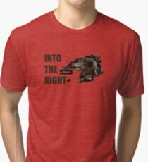 "Tactical Brainbucket ""into the night"" Tri-blend T-Shirt"