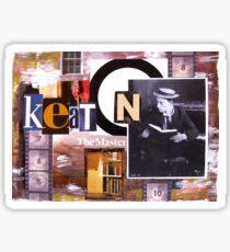 Keaton The Master Sticker