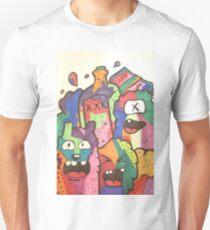 Multicolor Doodle Unisex T-Shirt