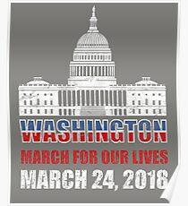 Protest Gun Violence, Gun Control, Anti Guns. Poster