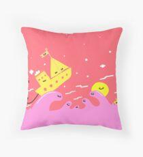 Sailbreezers Throw Pillow