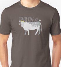 Crazy cow lady Slim Fit T-Shirt