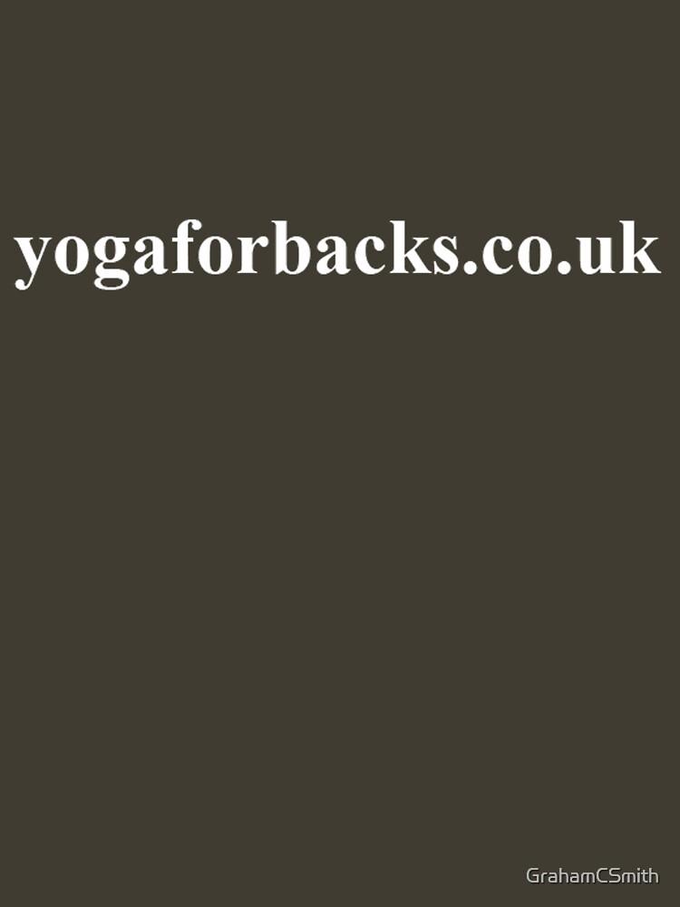 yoga for backs tee shirt by GrahamCSmith