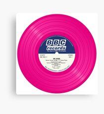 Radiophonic Record Canvas Print