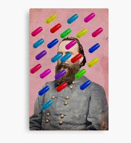 Color Chaos Collection -- Major Pill Canvas Print