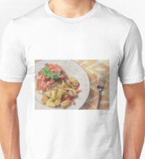 Parmesan Crusted Chicken Breast Unisex T-Shirt