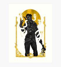 Serpent Kiss Art Print