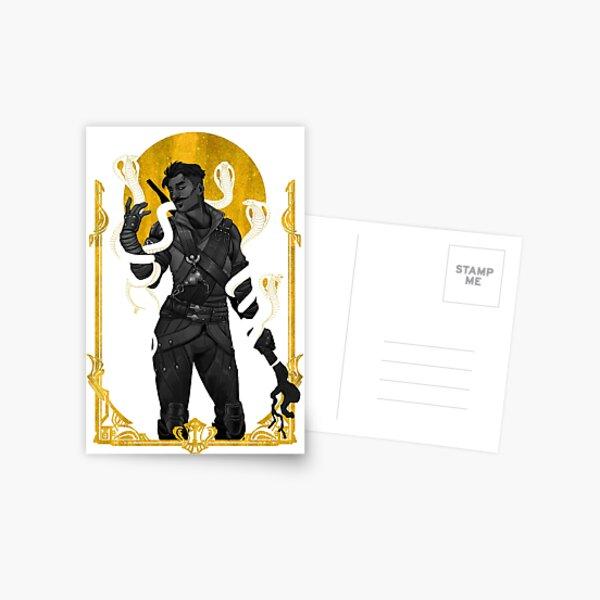 Serpent Kiss Postcard