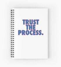 Trust The Process  Spiral Notebook