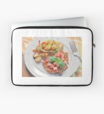 Parmesan Crusted Chicken Breast Laptop Sleeve