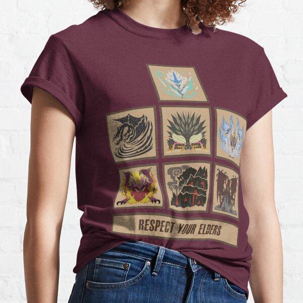 Monster Hunter World Elder Dragons Classic T-Shirt