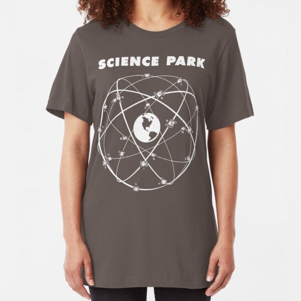 SCIENCE PARK Classic Logo (White Print) Slim Fit T-Shirt
