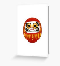 Daruma Greeting Card