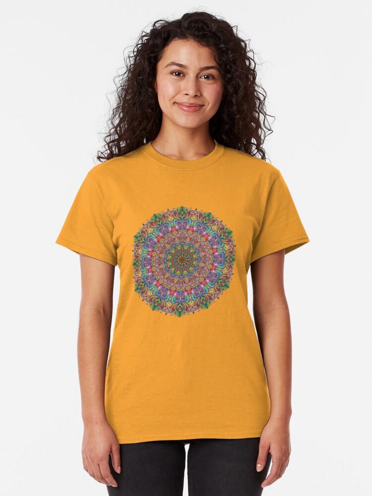 Alternate view of Tropical Mandala Classic T-Shirt