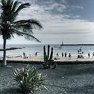 Playa Las Cucharas by Tom Gomez