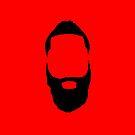 James Harden Beard  by prodesigner2