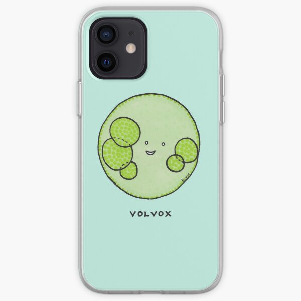 Algae: volvox! iPhone Soft Case