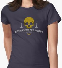 Skull Shirt Women's Fitted T-Shirt