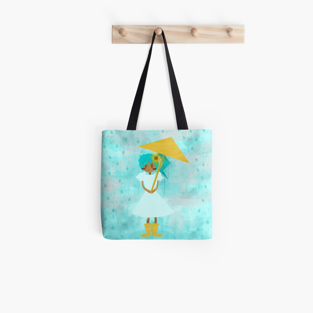 Sunflower Showers Tote Bag