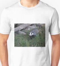 Badger leaving its sett Unisex T-Shirt