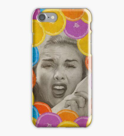 Color Chaos Collection -- Citrus Muss iPhone Case/Skin