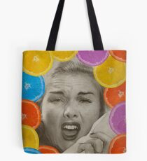 Color Chaos Collection -- Citrus Muss Tote Bag