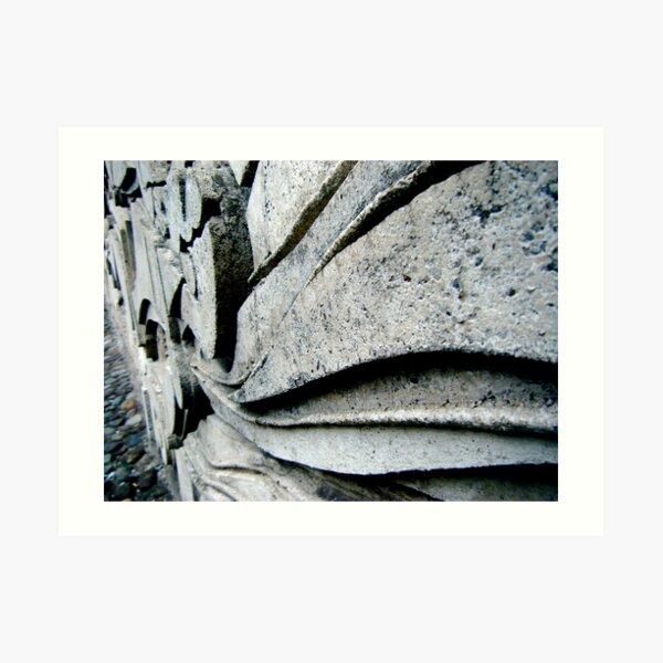 Stone Swoops Art Print