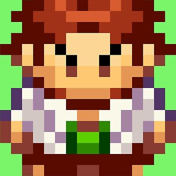 Professor Birch Overworld Sprite by fourfourfour