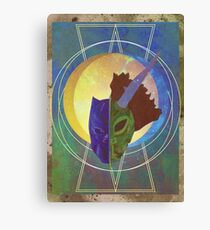 I'm Just Checking Out These Artifacts Canvas Print