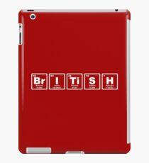British - Periodic Table iPad Case/Skin