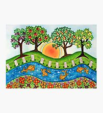 """""""Sunrise At The Orchard""""  Photographic Print"""