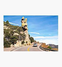 Hoodoo on the Road Photographic Print