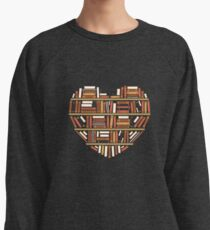 I Heart Books Lightweight Sweatshirt