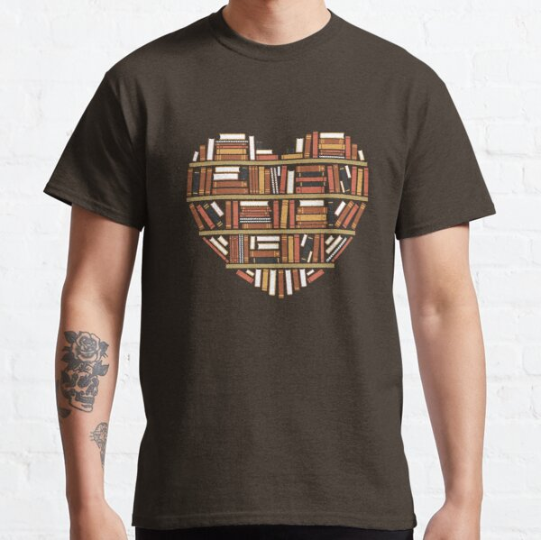 I Heart Books Camiseta clásica