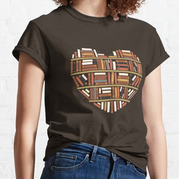 I Heart Books Classic T-Shirt