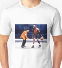 Michael Jordan and Michael Jackson 1 on 1 Unisex T-Shirt