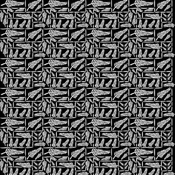 New Zealand Ferns in pattern by yolan