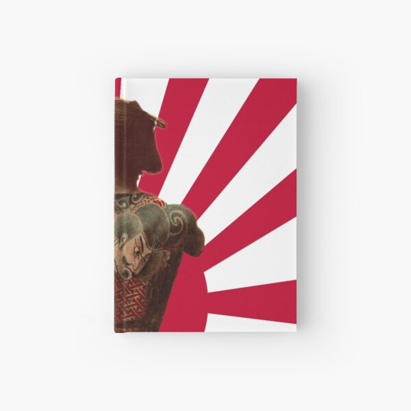 Tattooed Samurai Rising Sun Hardcover Journal
